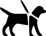GRF hund i snor